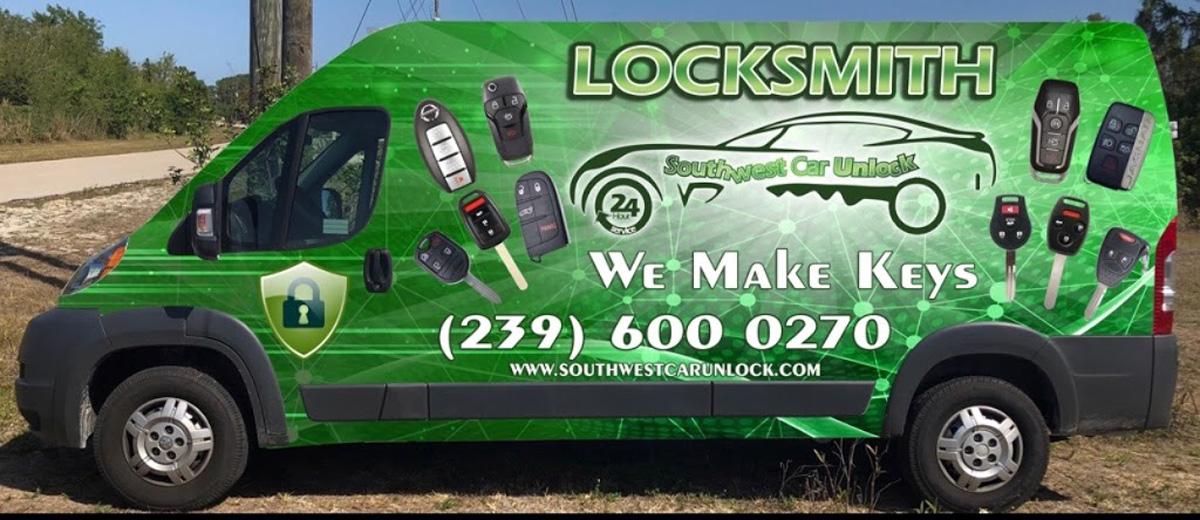 Southwest Car Unlock - Your Locksmith Experts (239) 600 0270